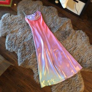 Dresses & Skirts - Simple Ombré Rainbow Gown ♡